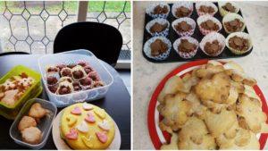 BBC Children in Need charity bake sale