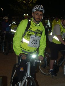 Charity cycling