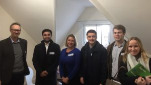 LandAid visit Staying Close accommodation for care leavers