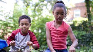 Foster children building sibling relationships