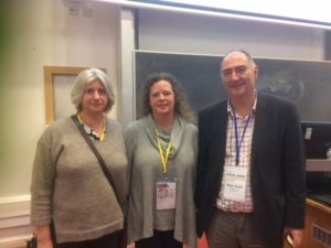 Social work staff at European conference
