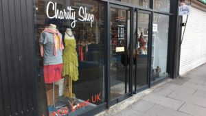 Little Lives charity shop in Tooting, South West London