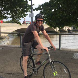 Fundraising cycling
