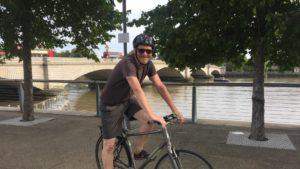 Cycling fundraising