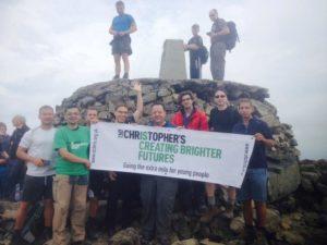 Charity three peaks